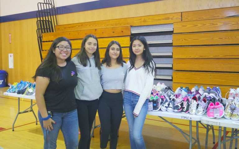 South County students start school year with fresh kicks