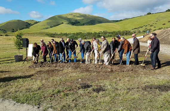 New agricultural center breaks ground