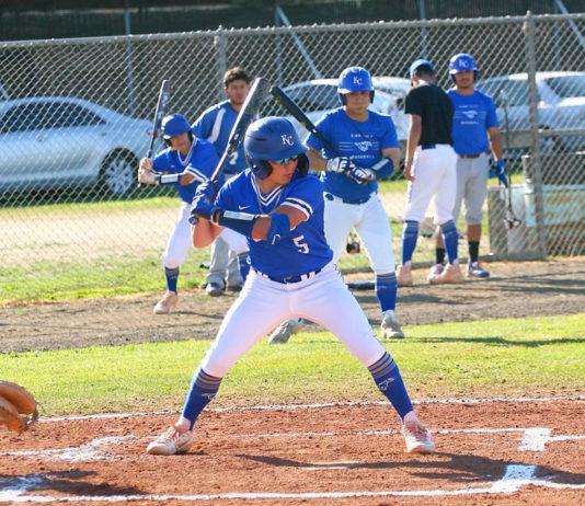 King City High Mustangs Baseball Players
